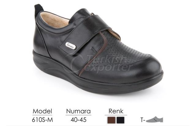 Diabetic-Orthopedic Man Shoes 610-M