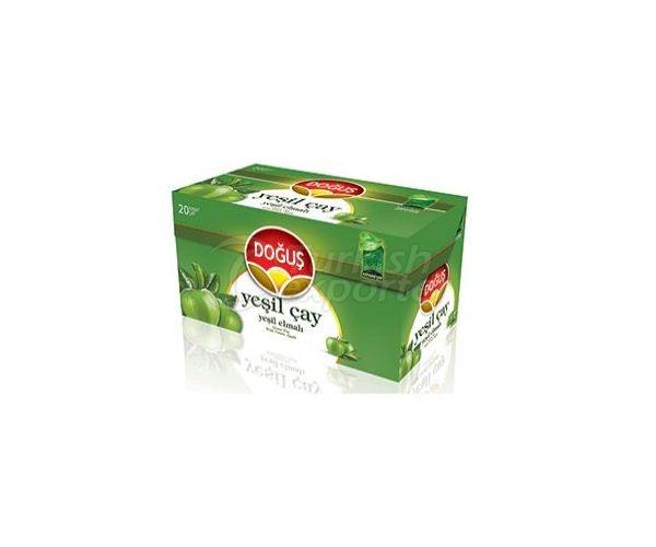شاي اخضر بنكهة تفاح