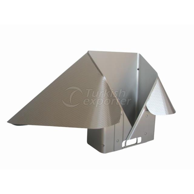 YSM-202 Rectangular Radius Collar