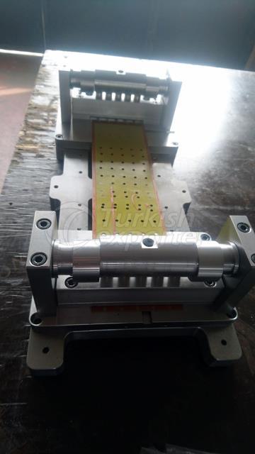 Impresión de la producción de máquinas de Clishe Puching