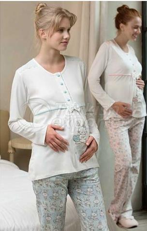 Pregnant Pompom Triple Set