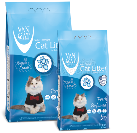 Cat Litter  -Fresh Perfumed