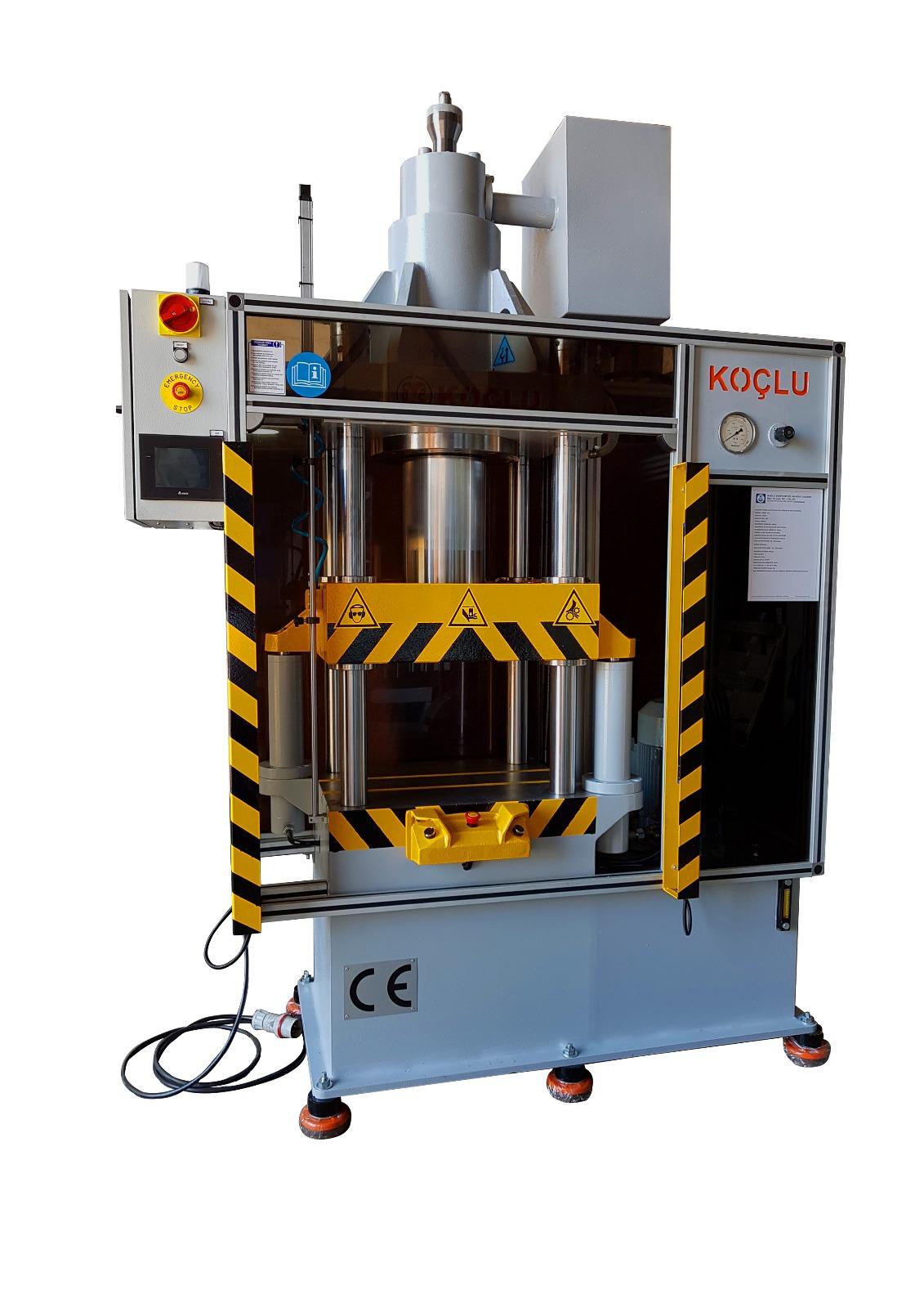 110 TON COLUMN HYDRAULIC PRESS MACHINE