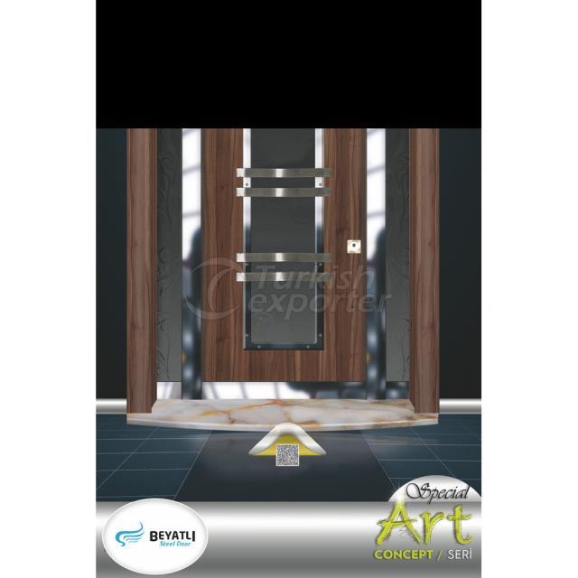 Steel Door - SP 904