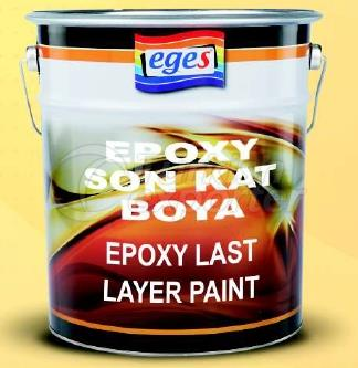 Pintura epoxi de última capa