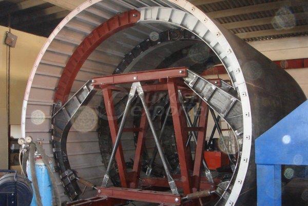 Máquina formadora de túneis