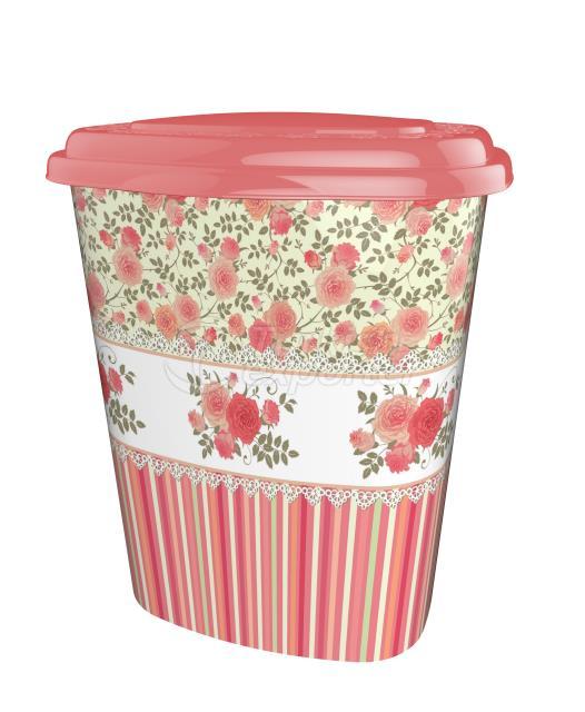 Decorated Laundry Basket/41 lt