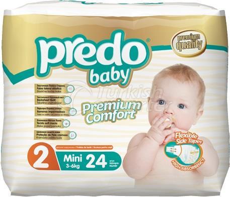 Baby Diapers Predo Economic Mini