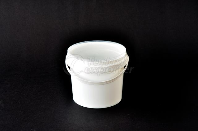 500 ml Plastic Round Bucket