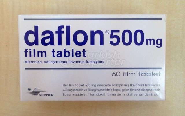 DAFLON 500 MG 60 TABLETS