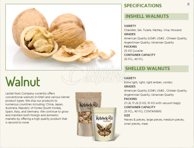 Walnut-Information