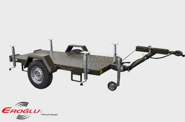 Single Axle Generator Trailers
