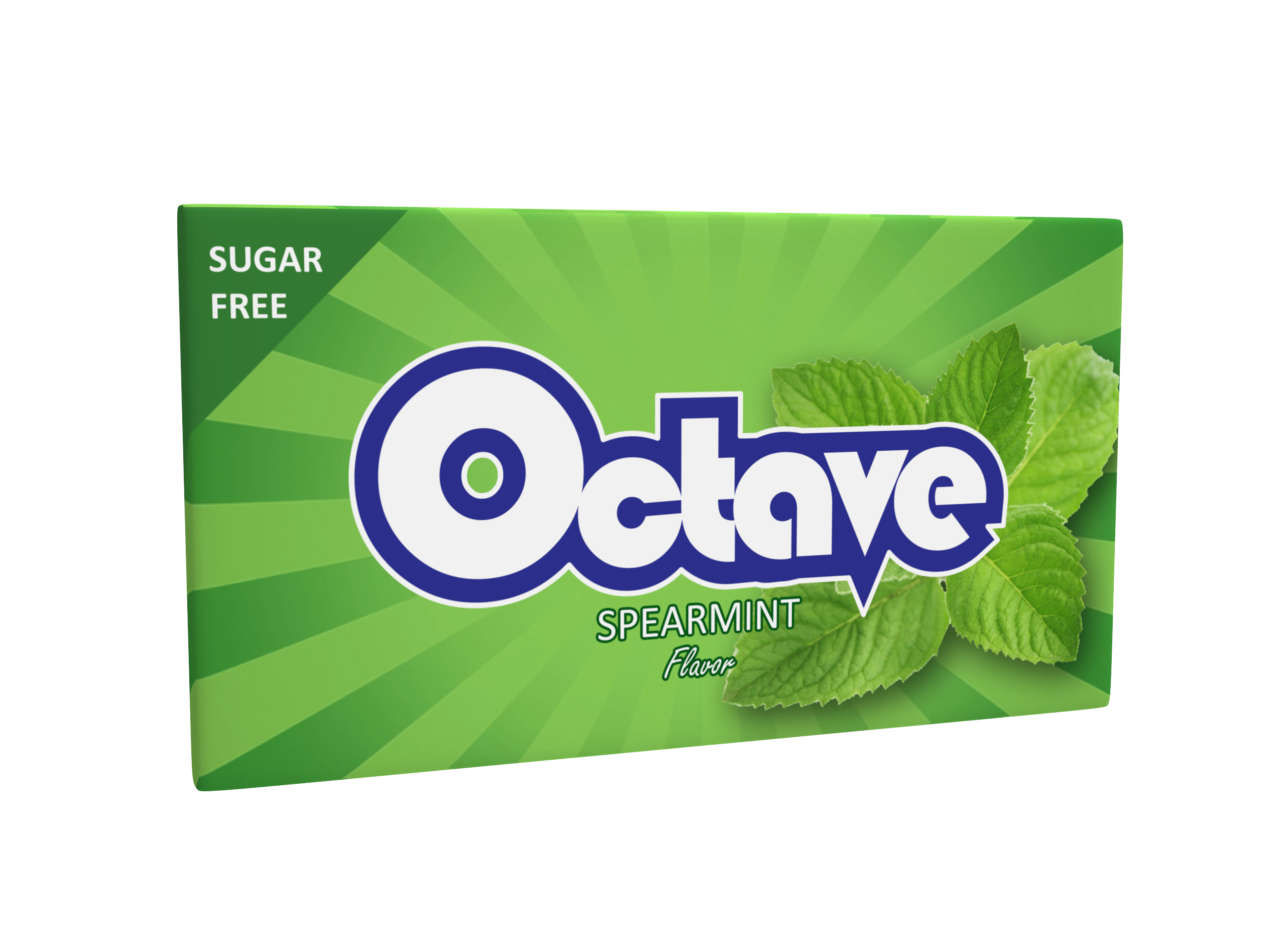 Octave - Chewing Gum With Spearmint Flavor - 14 gr.