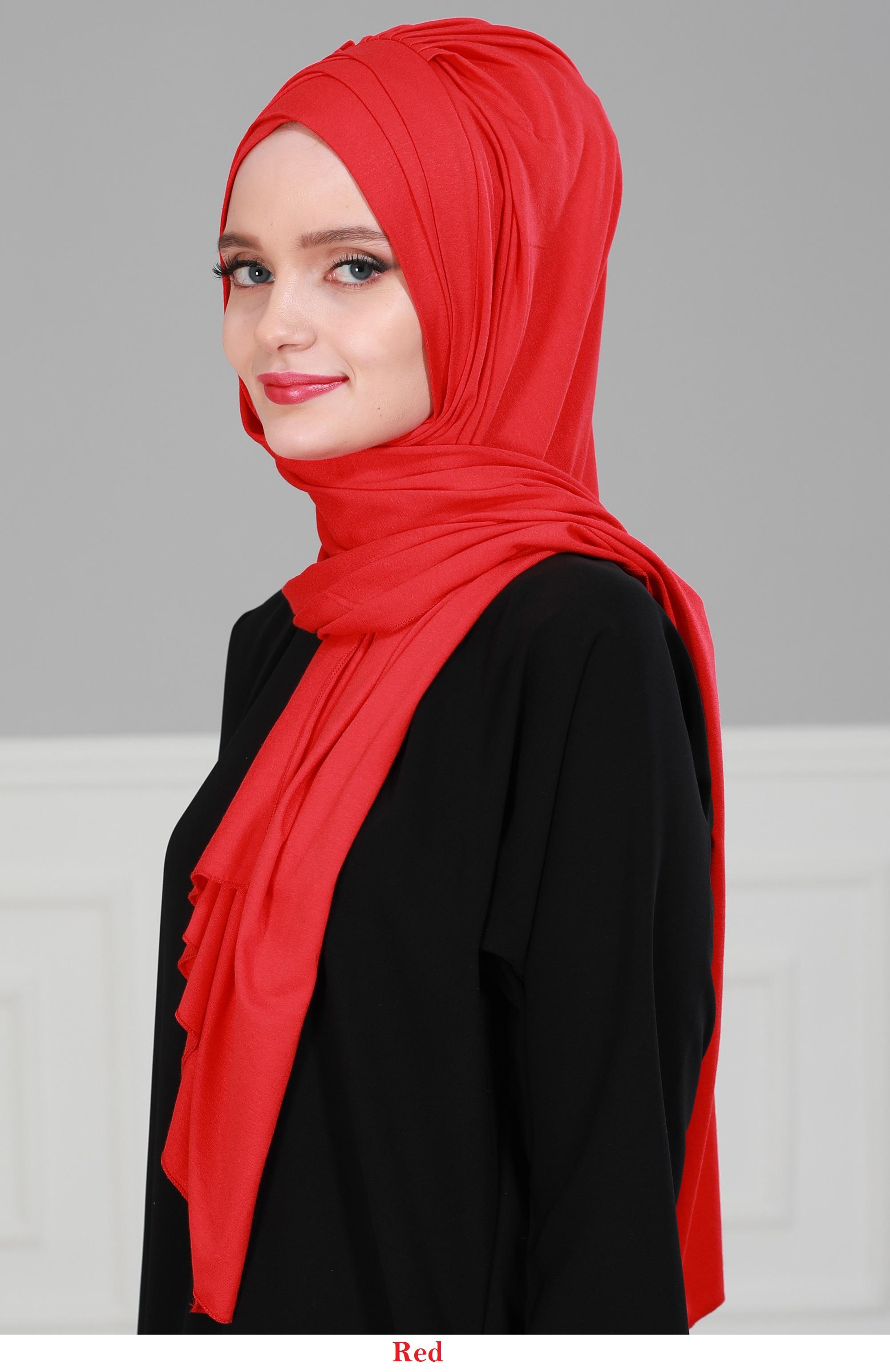 Instant Cotton Shawl Head Wrap Scarf Instant Modesty Turban Cap for Women