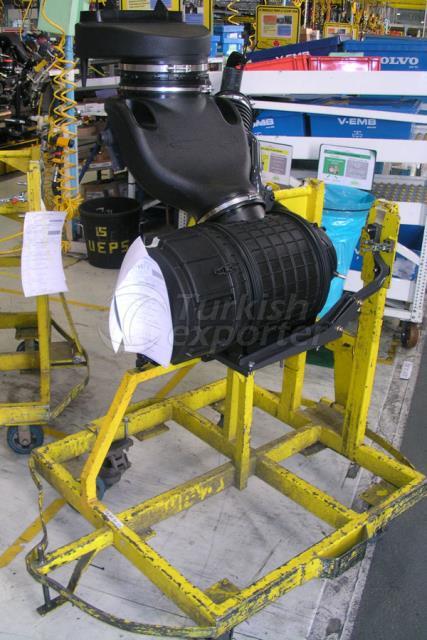 Équipements de la chaîne de montage des camions Renault
