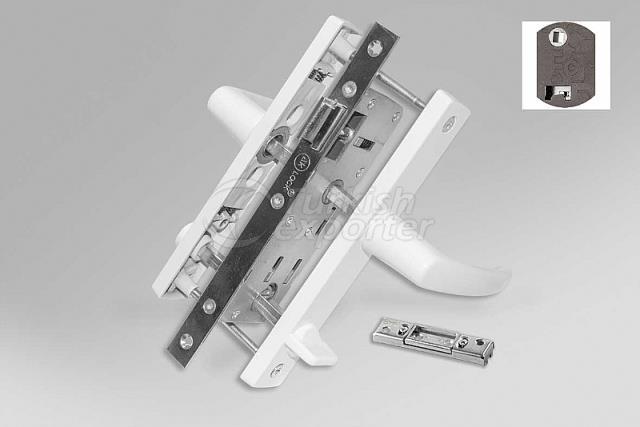 MINI.003 Mi̇ni̇ Spring WC Door Handle 70 Axis