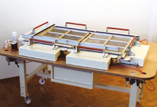 Silk Stretching Machine