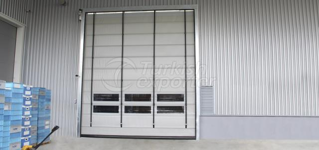 High Speed Folding PVC Doors