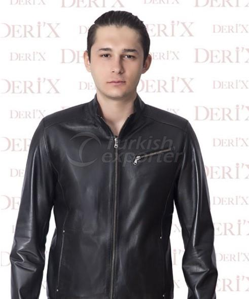Leather Jackets E- 88 Black
