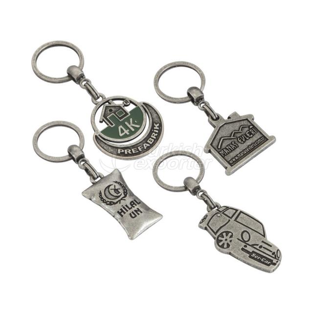 3D Metal Key Chain