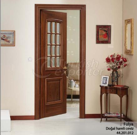 Ahşap Kapı Fulya 12 Camlı