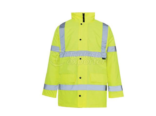 Yellow Traffic Coat 1017