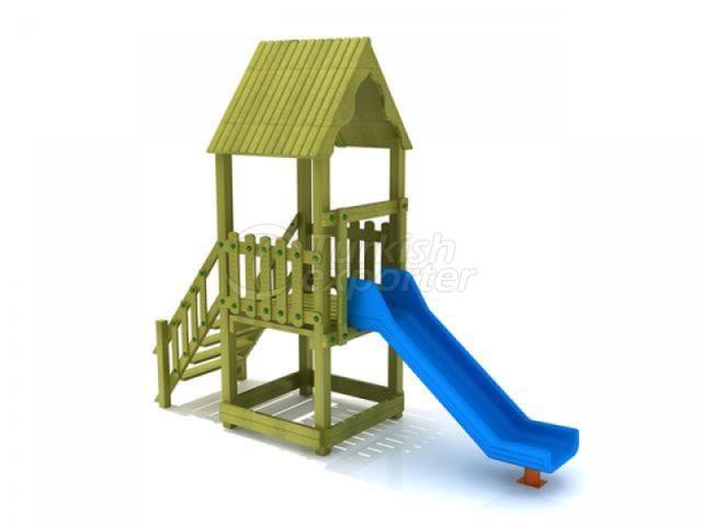 Wooden Kids Playground BAB-P-15500
