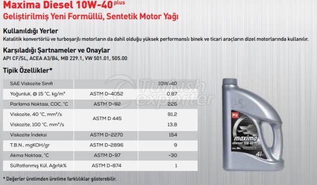Maxima Diesel 10W-40Plus