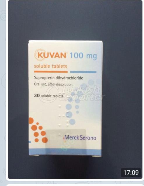 La imagen es de tabletas solubles de 100 mg