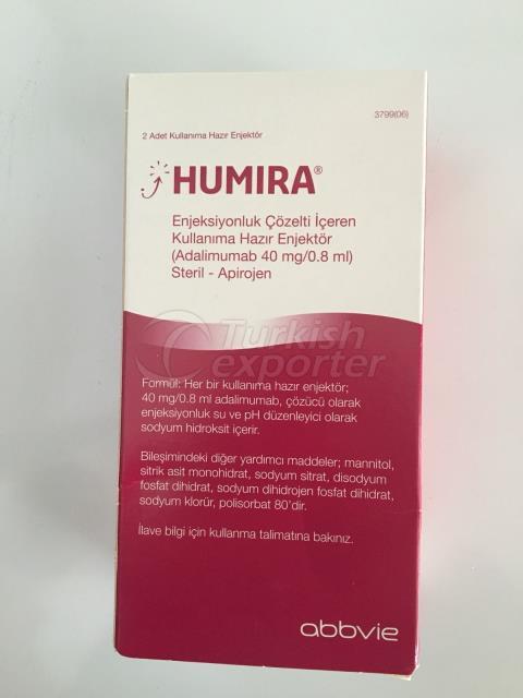 Humira prêt injection