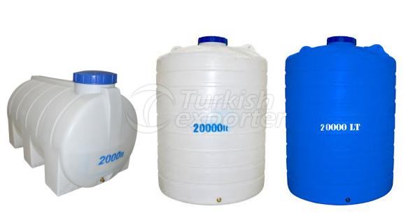 polyethylene water stores