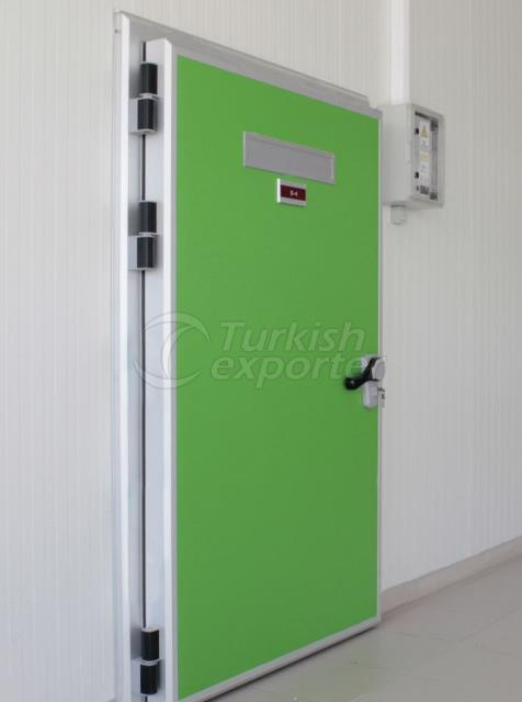 Cold Storage Doors Hinged