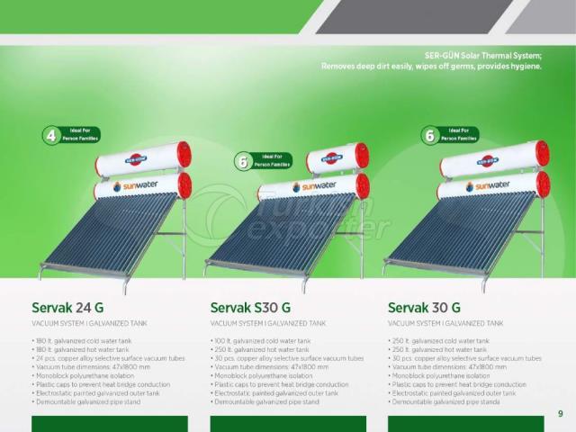 Energia Solar Servak 24 G-S30G-30G