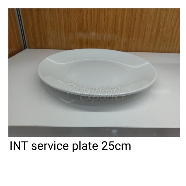 Service Plate