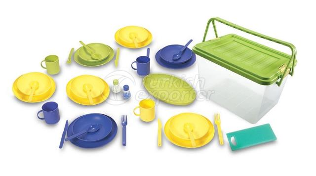 Family Picnic Set for 6 Persons