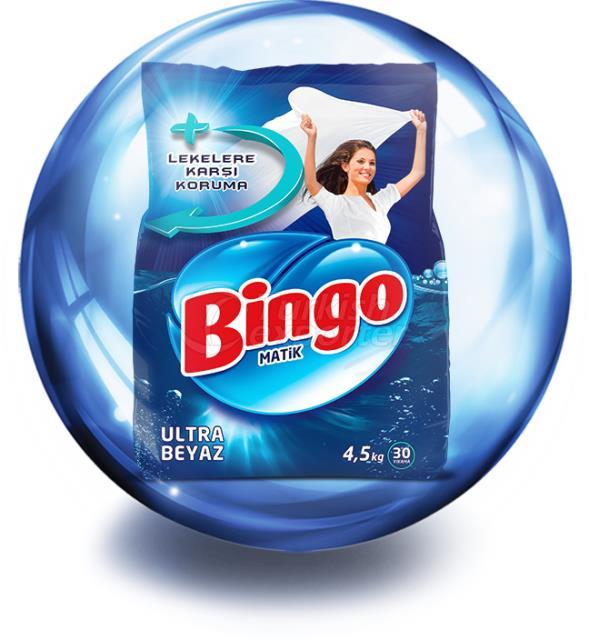 BINGO MATIC ULTRA BLANCO 4,5 kg
