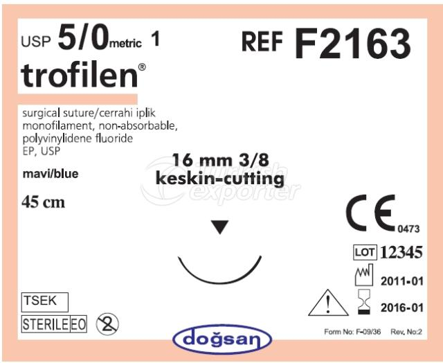 Non-Absorbable Sutures F2163