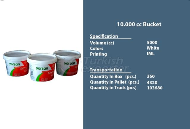 Bucket Container 10000 cc