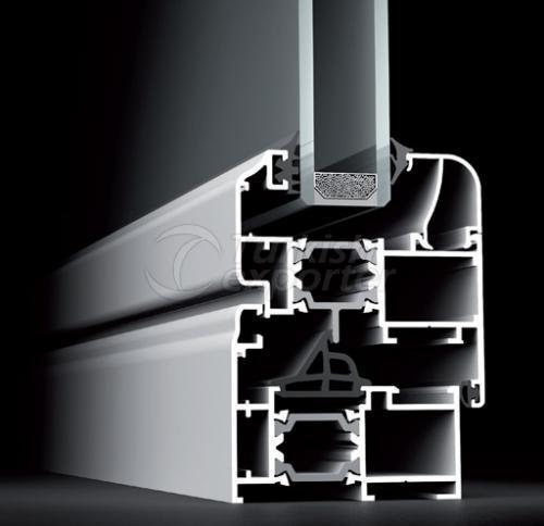 Puertas de aluminio 65T Windows