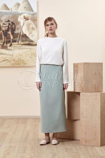 Pencil Skirt 4511 Green