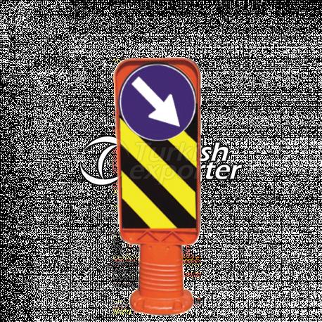 Esnek Refüj Başı Tabelası - CR 2606