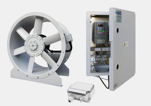 VAX Axial Pressurization Fans