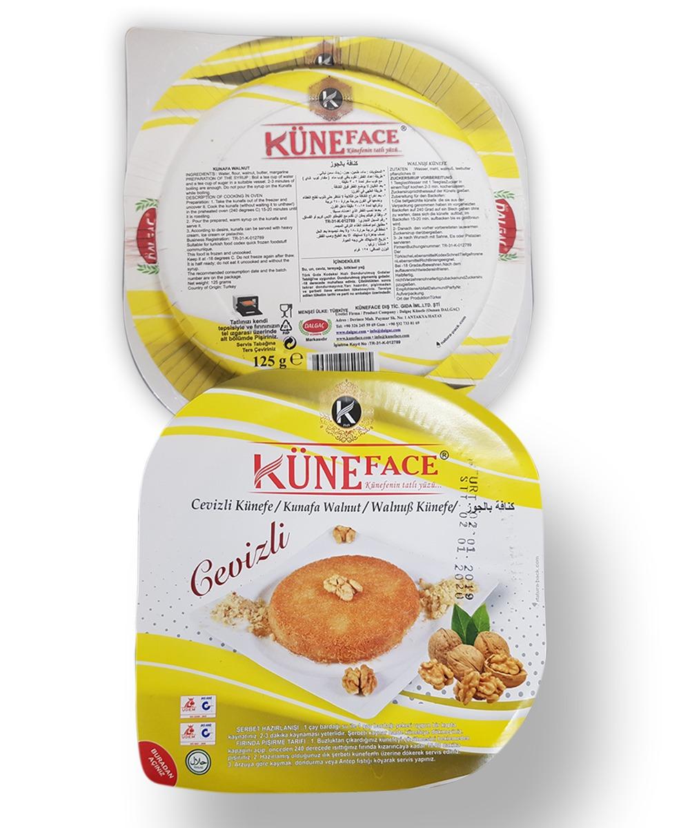 Kunafa with Walnut