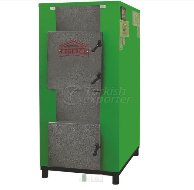 Central Prismatic Manual Heating Boiler