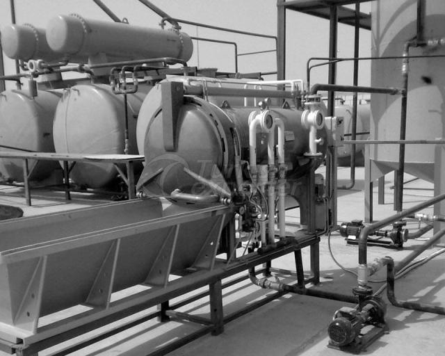 Systèmes de lot d'huile usée