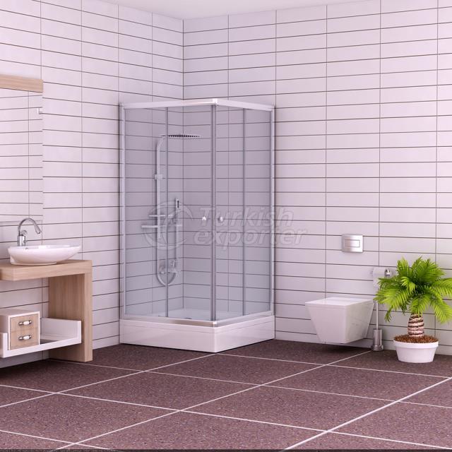 Cabina de ducha de esquina Ebru