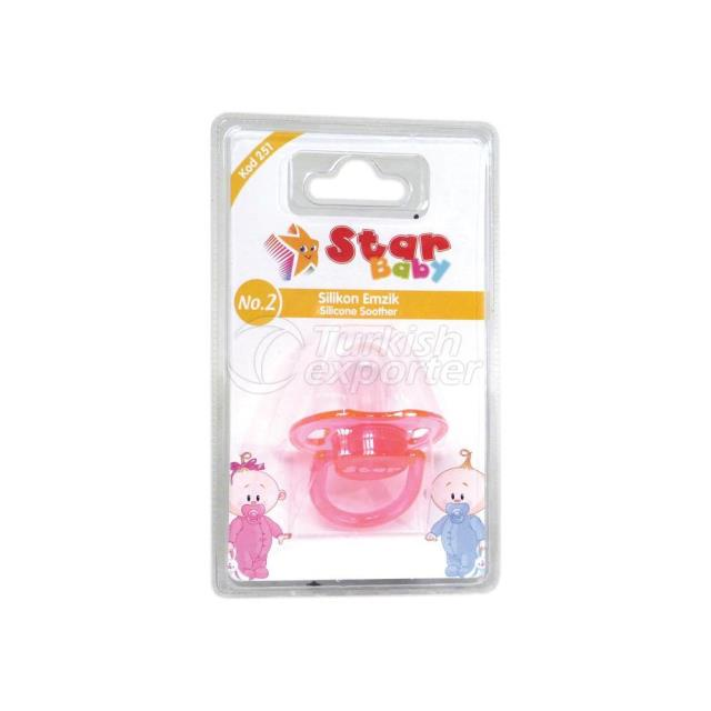 Silicone Soother No.2