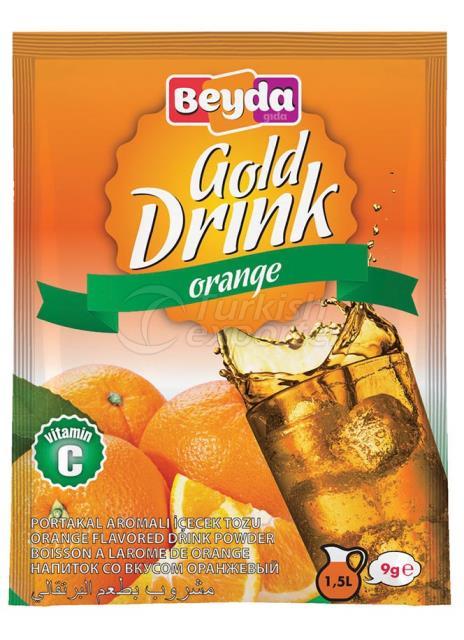 Orange Flavored Powder Drink