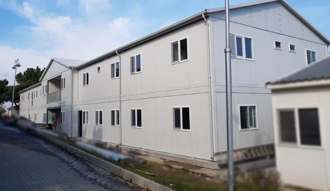Prefabricated Buildings Metro Project