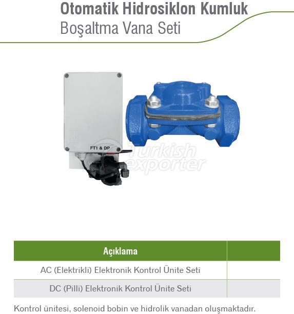 Automatic Hydrocyclone Sand Drain Valve Set